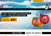 GOptions online Binary Options Broker Review - USA Accepted