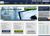 UFXmarkets Homepage
